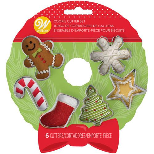 Wreath Mini Cookie Cutter Set 6pc