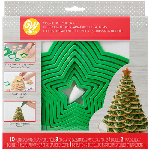 Christmas Tree Cookie Cutter Kit