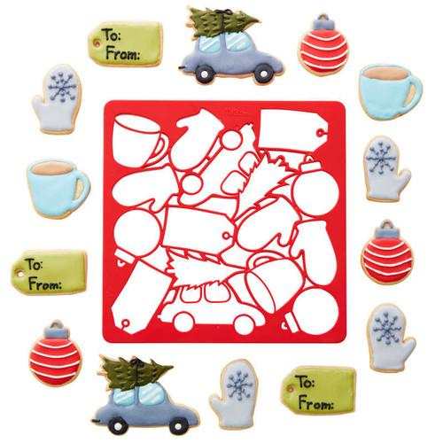 Christmas Multi-Cookie Cutter Sheet