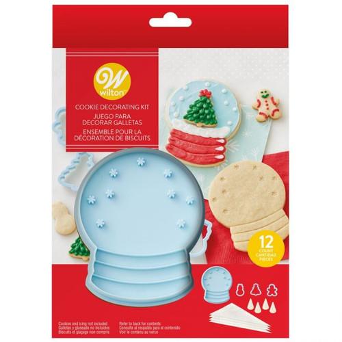 Snow Globe 12pc Cookie Kit
