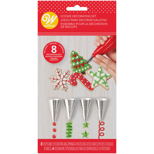 12pc Holiday Cookie Decorating Set