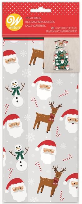 Snowman Santa Treat Bags