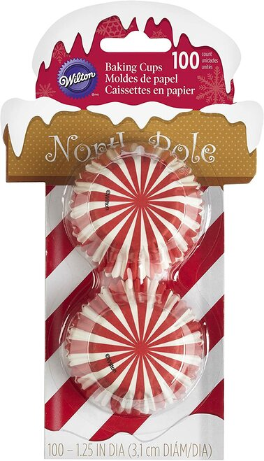 North Pole Mini Baking Cups