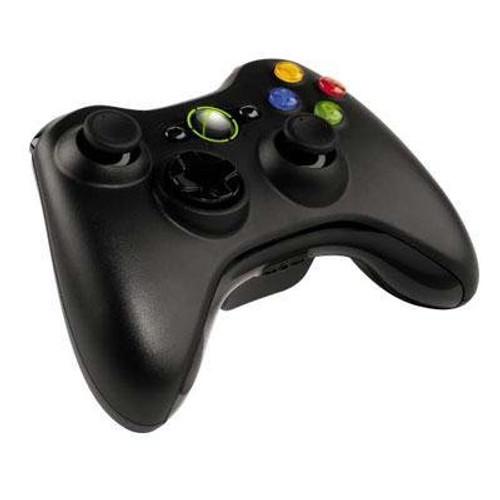 Microsoft Xbox, 360 Wireless Controller Black