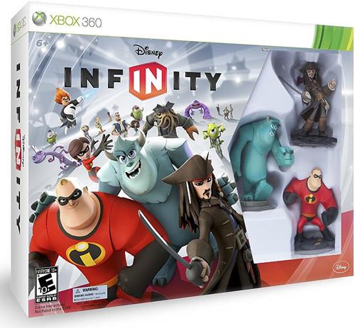 DISNEY INFINITY Starter Pack Xbox 360 Open Box
