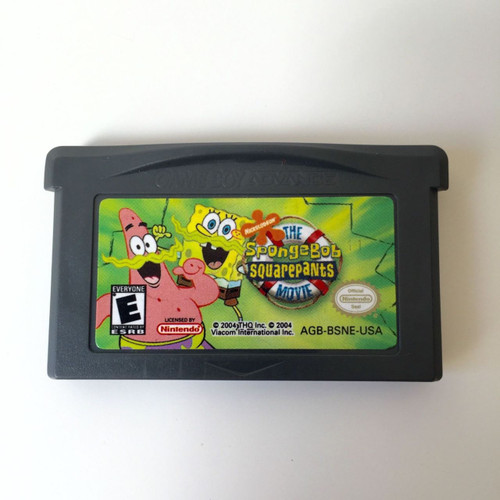 THE SPONGEBOB SQUAREPANTS MOVIE Nintendo Game Boy Advance