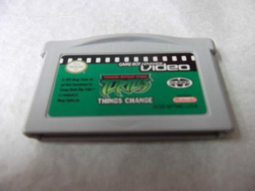 Teenage Mutant Ninja Turtles: Things Change (GBA Video for Game Boy Advance)