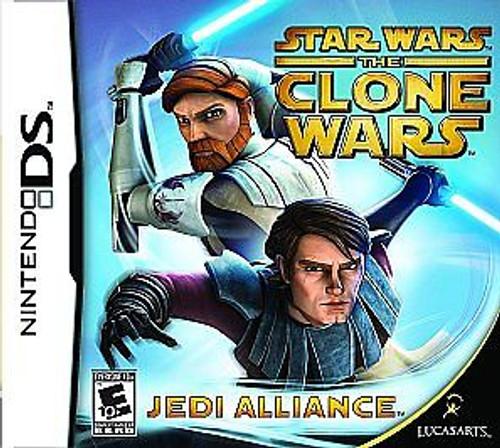 Star Wars: The Clone Wars -- Jedi Alliance (Nintendo DS, 2008