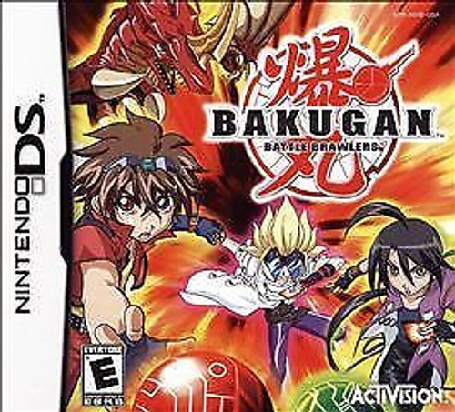 Bakugan Battle Brawlers (Nintendo DS, 2009) Game Only