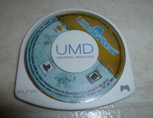LittleBigPlanet (Sony PSP, 2009) PlayStation Portable Disc Only Tested