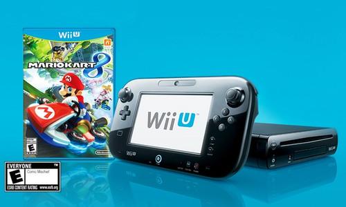 Wii U Mario Kart 8 Bundal Open Box