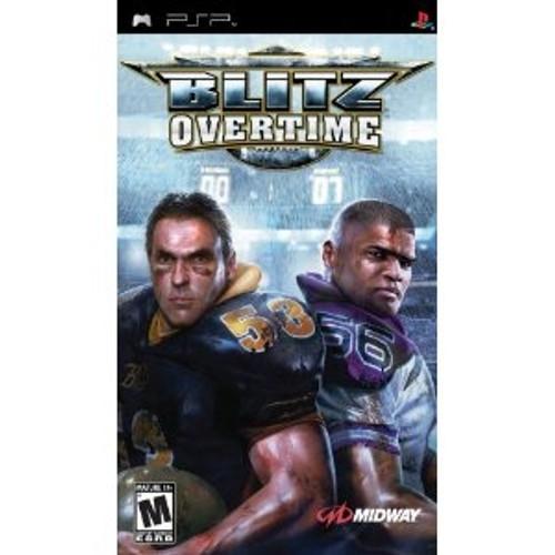 Blitz Overtime psp used