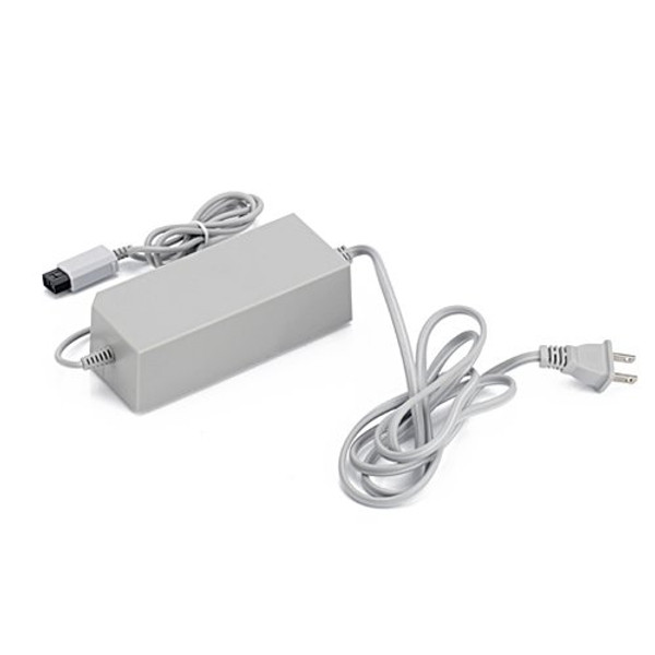 AC Home Wall Power Supply Adapter Cord US Plug for Nintendo Wii RVL-002