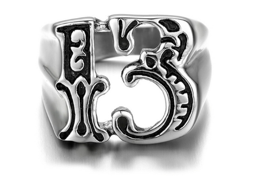 LUCKY 13 RING/SIZE 12