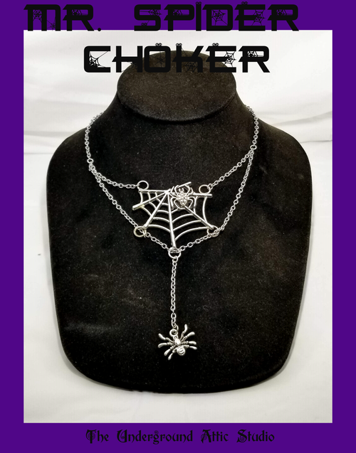 MR. SPIDER WEB CHOKER