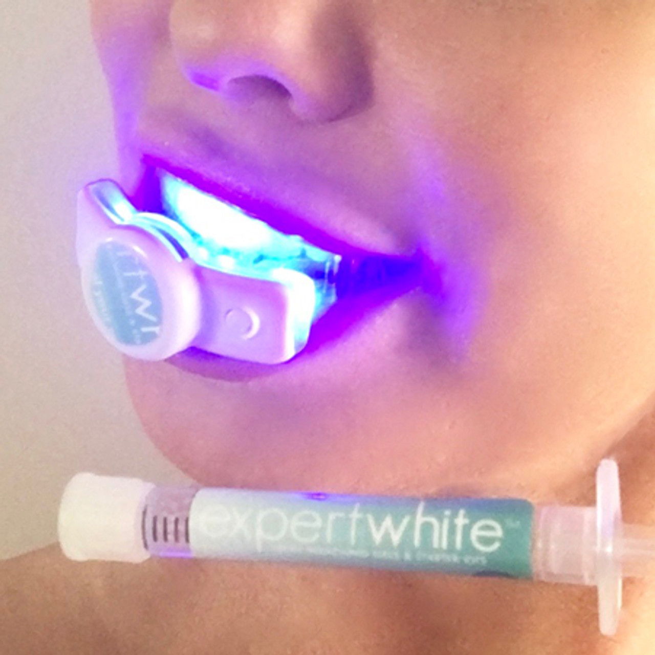 Teeth Whitening Kit Led Light Hi Smile