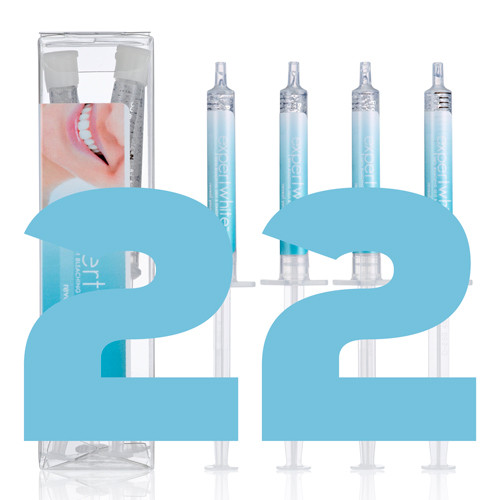 22% Carbamide Peroxide Tooth Whitening Teeth Bleaching Gel. Professional Dentist Strength. Expertwhite.