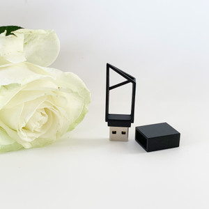 Geometric style usb flash drive