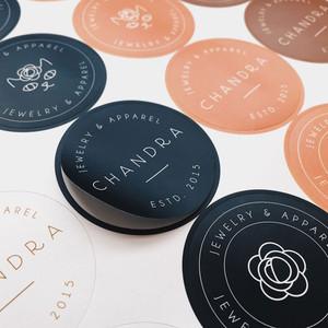 custom printed sticker labels