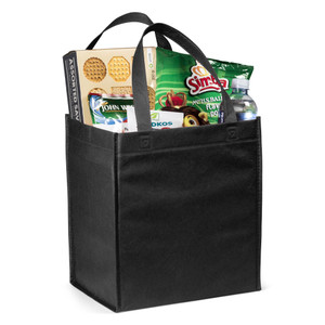 grocery shopper carrier bag
