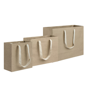 brown kraft paper tote gift bags
