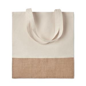 cotton jute hessian tote bag