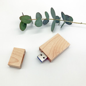 maple wooden usb flash drive