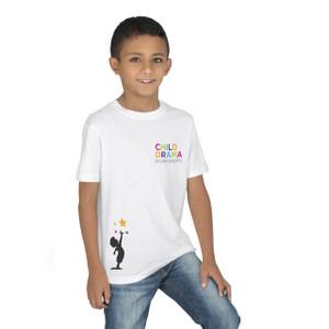 children kids tshirt with custom logo printing
