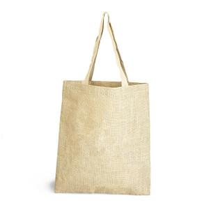 eco friendly hessian jute tote shopper bags