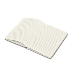 cork soft cover notebook