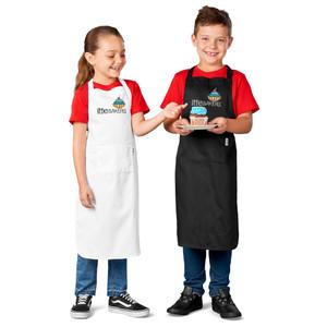 child kid size apron bib