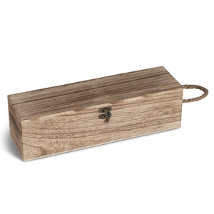 wine gift box with custom engraving