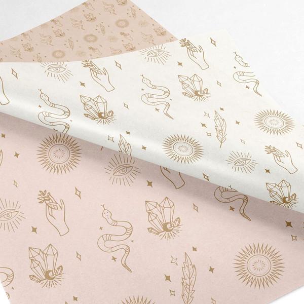 logo printing on tissue paper
