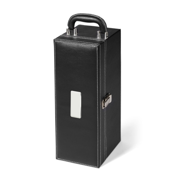executive leather wine box set
