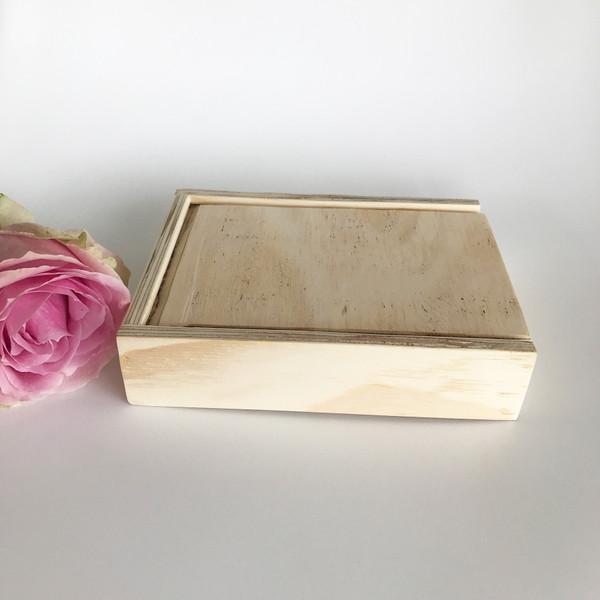 photo wooden keepsake box