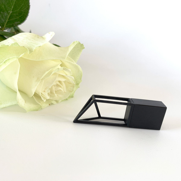 modern geometric shape usb flash drive