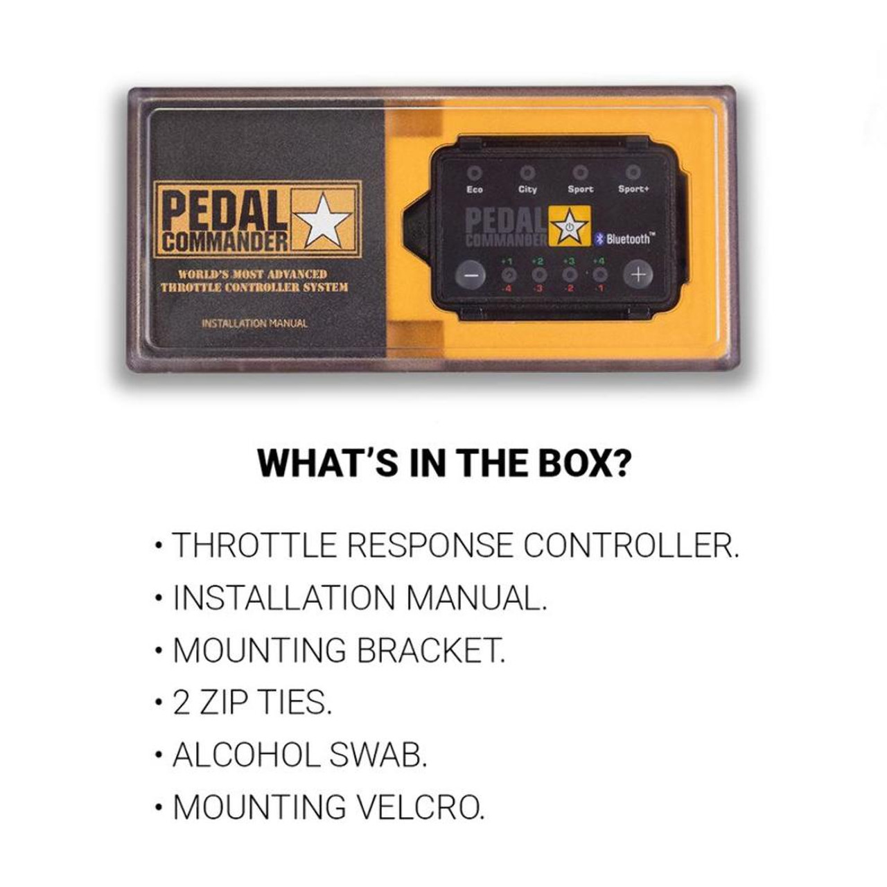 Pedal Commander PC65-BT Throttle Response Controller Blue Tooth For 07-18 GM GMC