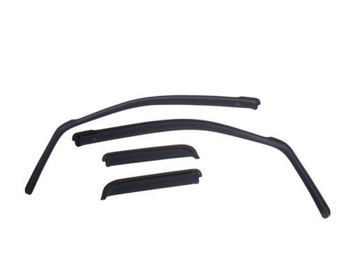 EGR Window Vent Visors Rain Guards In-Channel 4 Pc For 15-20 Ford F-150 Crew Cab