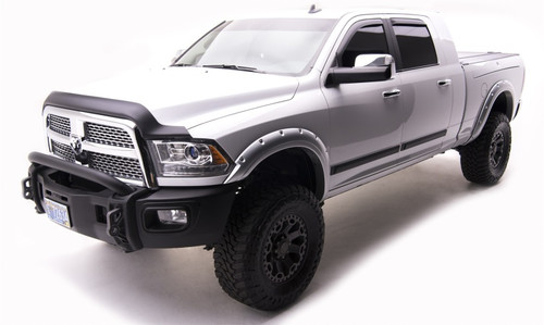 EGR 792854-PS2 Color Match Fender Flares For 10+ Dodge Ram HD Bright Silver