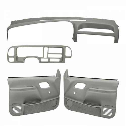 Coverlay Light Gray Interior Accessories Kit 18-695C59N-LGR For 95-96 Chevy GMC