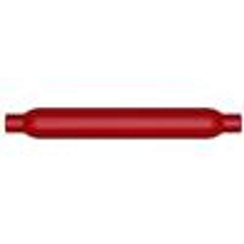 MagnaFlow Muffler Red Pack Series Glasspack 4in Rd 18in Body Length 3in/3in Inlet/Outlet