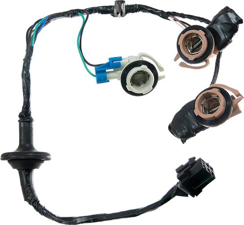 034126 Tail Lamp Light Wiring Harness Bulb Connector Fits