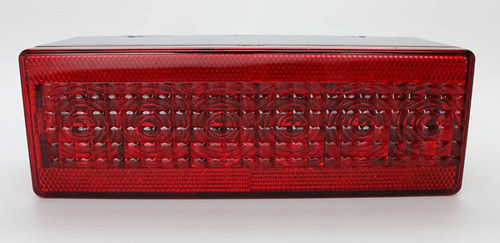 """8"""" TecNiq LED Submersible RV Truck Trailer Tail Light, Combo Stop, Turn and Tail Functions with License Plate Light"""