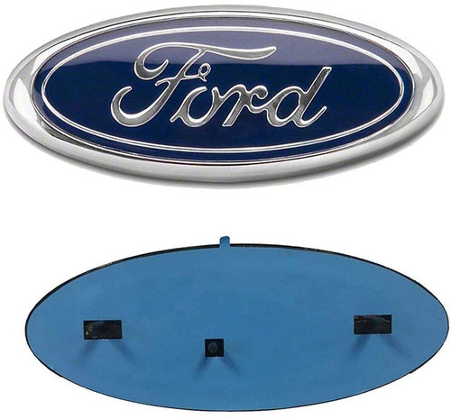 """Blue Oval 9"""" X 3.5"""" Front Grille Replacement Badge Emblem Medallion"""
