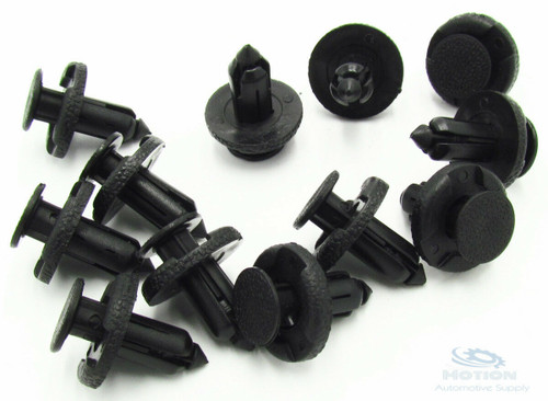 25 Black Nylon Bumper Radiator Support Retainers Clips Fits Nissan 11296-AG000