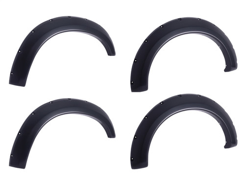 EGR 793474 Black Fender Flare Set of 4 No-Drill Bolt On Look For 15+ Ford F-150