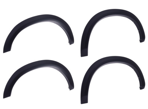 EGR 783474 Black Fender Flare Set of 4 No-Drill OEM Look For 15-18 Ford F-150
