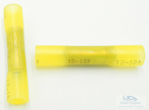 20 Pcs 3M Yellow Heat Shrink Butt Connectors 12-10 AWG GA Wire 80611255037