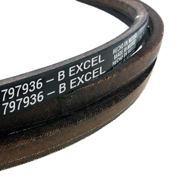 """HUSTLER Belt B 184.79"""" EL 797936 - Image 1"""