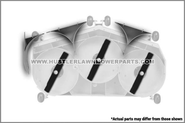"""HUSTLER KIT MULCH 54"""" 113721 - Image 1"""